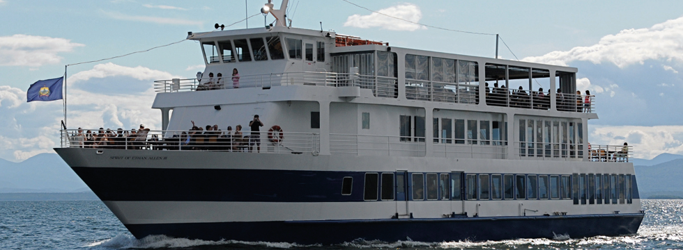 Spirit of Ethan Allen Cruises on Lake Champlain, Burlington
