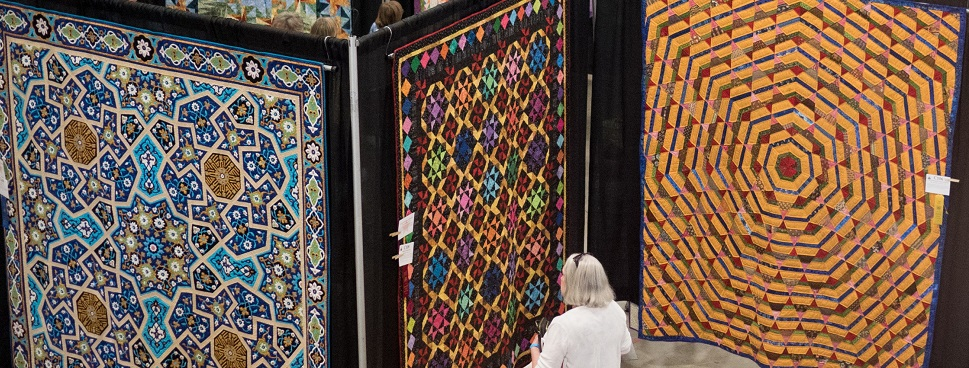 Vermont Quilt Festival, June 22-24, 2018, Essex Junction