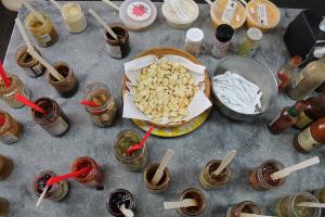 600-Sugarbush-Cheese-&-Maple-Farm-sampling-table