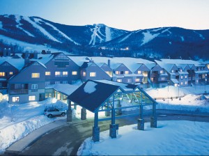 Killington Grand Winter Front Entrance