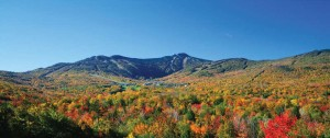 Killington Mountain in the Fall Aerial photo