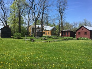 Rokeby-galleryHouse-rear-view-spring