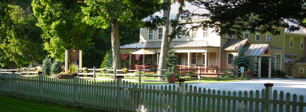 "Waybury Inn, Middlebury – The ""Bob Newhart"" Inn for Group Dining"